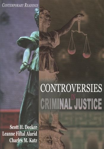 9780195330175: Controversies in Criminal Justice: Contemporary Readings