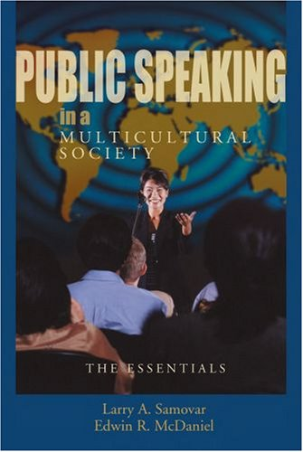 9780195330229: Public Speaking in a Multicultural Society: The Essentials