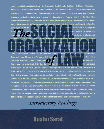 9780195330342: The Social Organization of Law: Introductory Readings