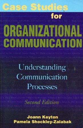 9780195330595: Case Studies for Organizational Communication: Understanding Communication Processes