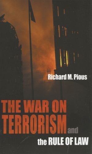 9780195330731: The War on Terrorism and the Rule of Law