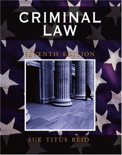 9780195330762: Criminal Law