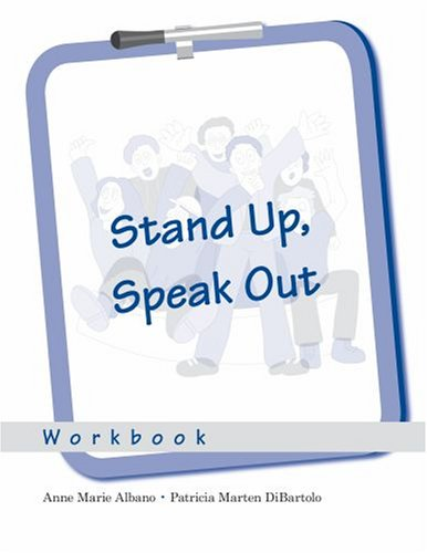 9780195331844: Stand Up, Speak Out: Workbook: 8-copy set (Treatments That Work)