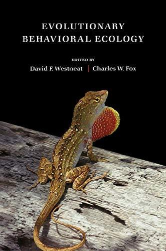 9780195331936: Evolutionary Behavioral Ecology