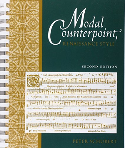 9780195331943: Modal Counterpoint: Renaissance Style