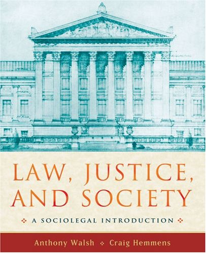 9780195334081: Law, Justice, and Society: A Sociolegal Introduction