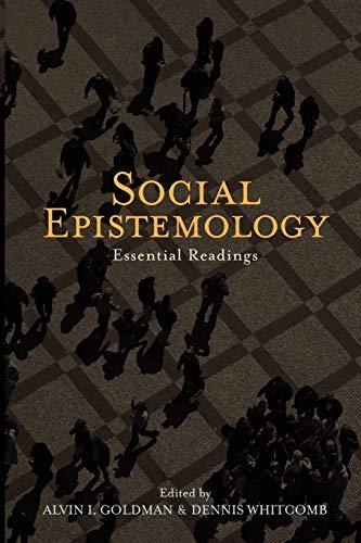 9780195334616: Social Epistemology: Essential Readings