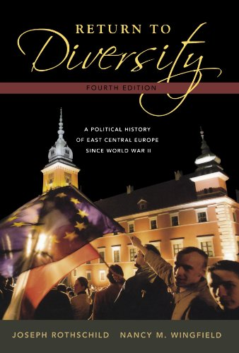 Return to Diversity: A Political History of: Rothschild, Joseph; Wingfield,