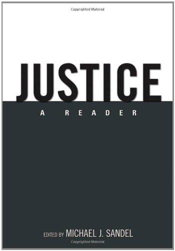 9780195335118: Justice: A Reader