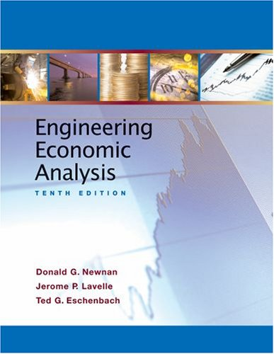 9780195335415: Engineering Economic Analysis