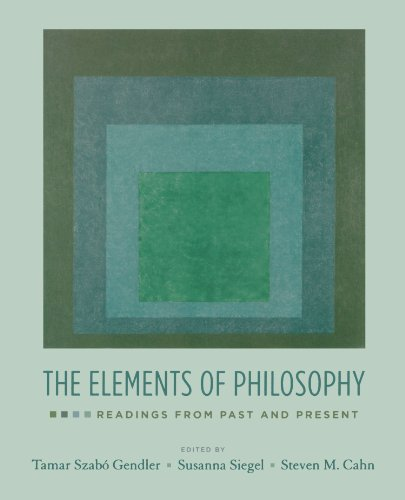 9780195335422: The Elements of Philosophy: Readings from Past and Present