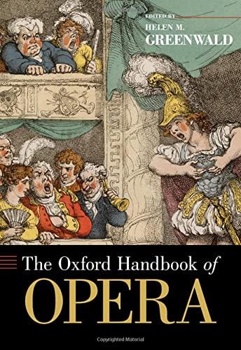 9780195335538: The Oxford Handbook of Opera (Oxford Handbooks)