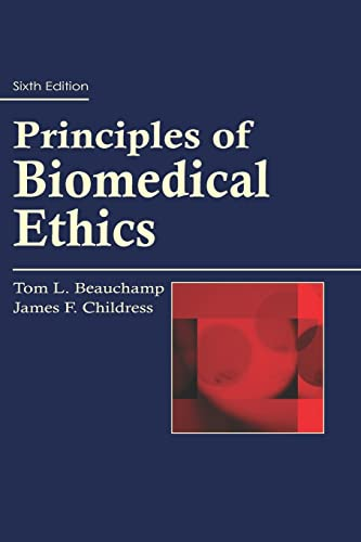 9780195335705: Principles of Biomedical Ethics