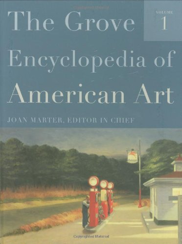 9780195335798: The Grove Encyclopedia of American Art: Five-volume set