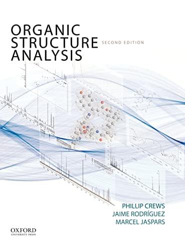 9780195336047: Organic Structure Analysis (Topics in Organic Chemistry)