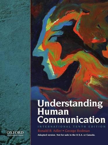 9780195336122: Understanding Human Communication