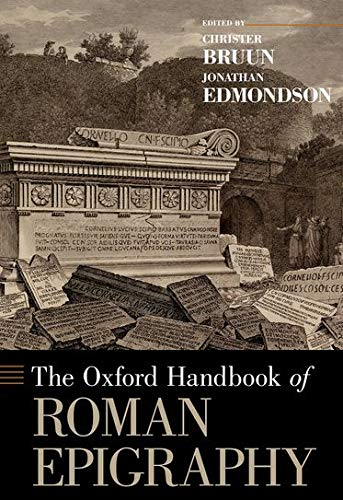 9780195336467: The Oxford Handbook of Roman Epigraphy (Oxford Handbooks)