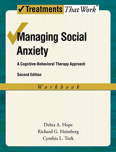 9780195336696: Managing Social Anxiety, Workbook: A Cognitive-Behavioral Therapy Approach
