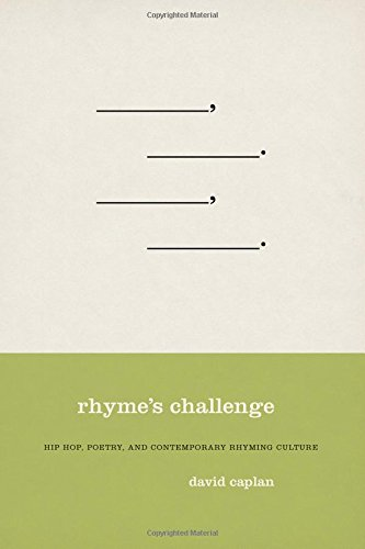 9780195337129: Rhyme's Challenge: Hip Hop, Poetry, and Contemporary Rhyming Culture