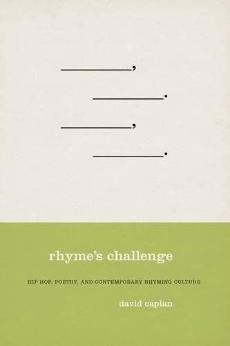 9780195337136: Rhyme's Challenge: Hip Hop, Poetry, and Contemporary Rhyming Culture