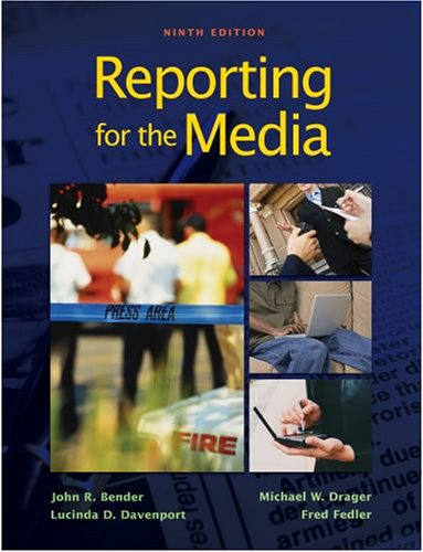 9780195337433: Reporting for the Media