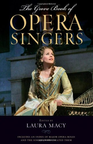 9780195337655: The Grove Book of Opera Singers