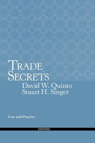 Trade Secrets: Law and Practice: Quinto, David; Singer,