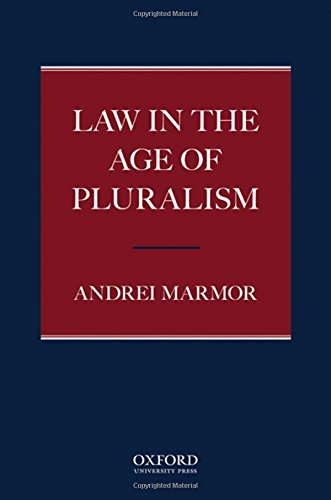 9780195338478: Law in the Age of Pluralism