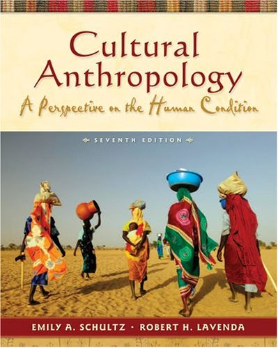 9780195338508: Cultural Anthropology: A Perspective on the Human Condition