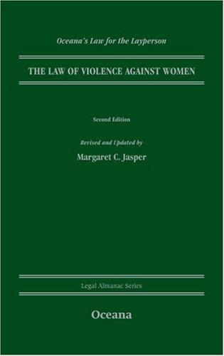 The Law of Violence Against Women: Margaret C. Jasper