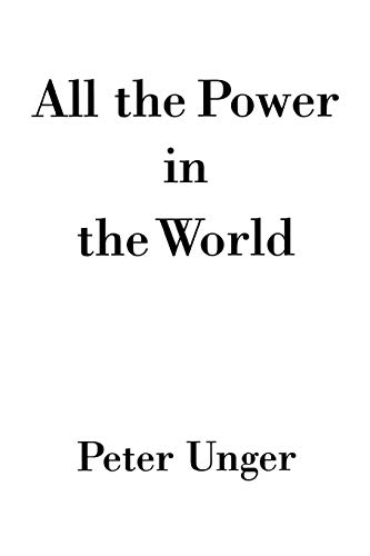 9780195339345: All the Power in the World
