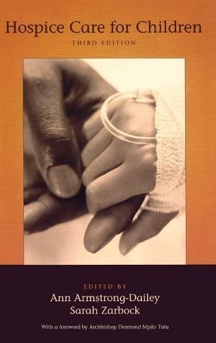 9780195340709: Hospice Care for Children