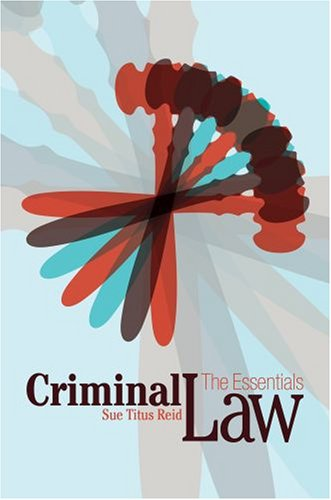 9780195340877: Criminal Law: The Essentials