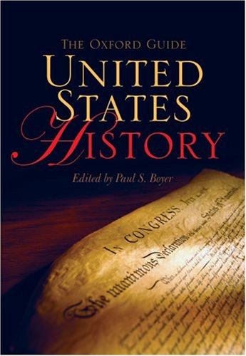 9780195340914: The Oxford Guide United States History