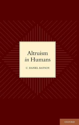 9780195341065: Altruism in Humans