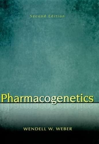 9780195341515: Pharmacogenetics (Oxford Monographs on Medical Genetics)