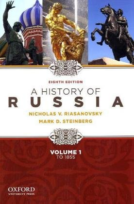 9780195341980: A History of Russia to 1855 - Volume 1