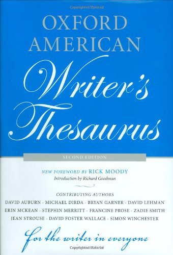 9780195342840: Oxford American Writer's Thesaurus