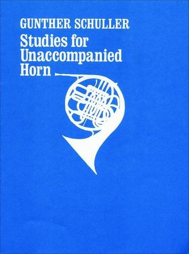9780195366129: Studies for unaccompanied horn: Solo horn