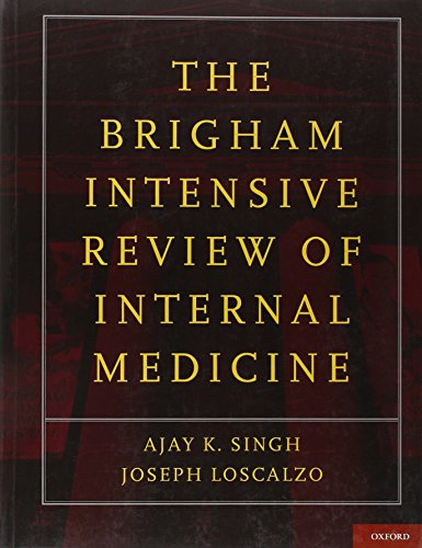 9780195366273: The Brigham Intensive Review of Internal Medicine