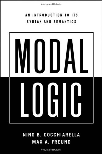 9780195366587: Modal Logic: An Introduction to its Syntax and Semantics