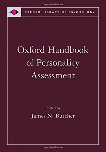 9780195366877: Oxford Handbook of Personality Assessment (Oxford Library of Psychology)