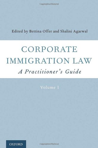 9780195367201: Corporate Immigration Law: A Practitioner's Guide