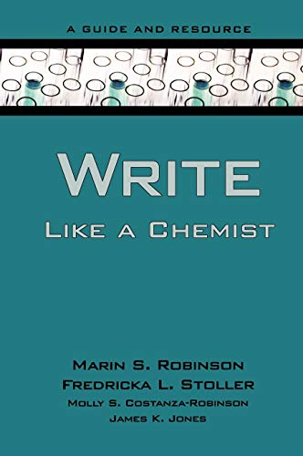 9780195367423: Write Like a Chemist: A Guide and Resource