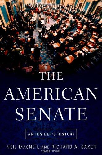 9780195367614: The American Senate: An Insider's History