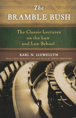 9780195368451: The Bramble Bush: The Classic Lectures to Law and Law Schools