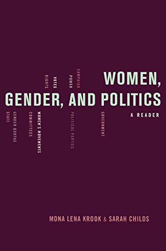 9780195368802: Women, Gender, and Politics: A Reader
