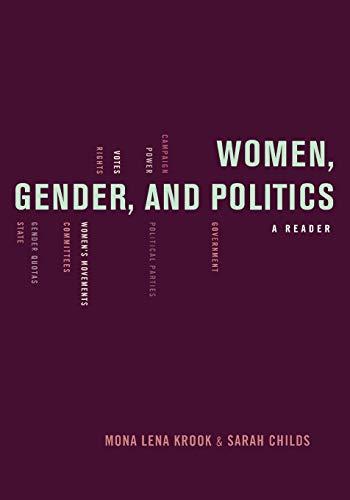 9780195368819: Women, Gender, and Politics: A Reader