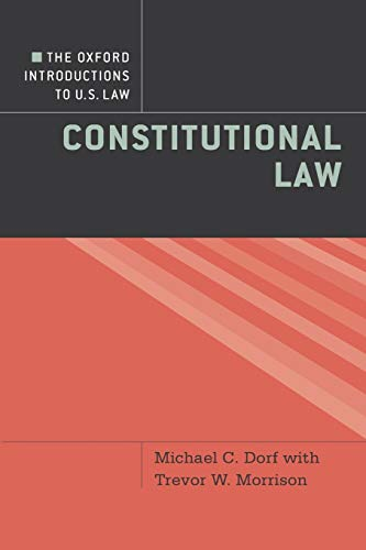 9780195370034: The Oxford Introductions to U.S. Law: Constitutional Law
