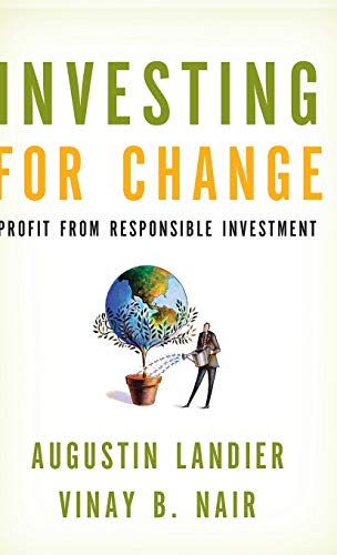 9780195370140: Investing for Change: Profit from Responsible Investment